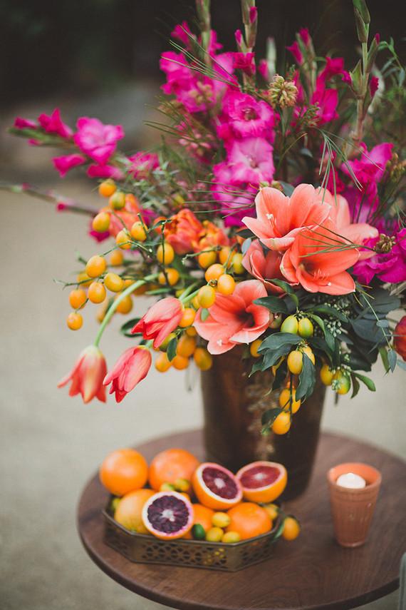 Bright Floral Centerpiece Wedding Amp Party Ideas 100