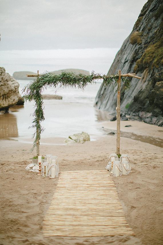 Bohemian Beach Wedding Arch Wedding Amp Party Ideas 100 Layer Cake