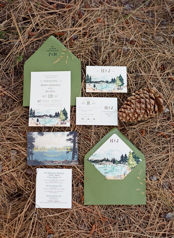 Tahoe Wedding Invitation Wedding Amp Party Ideas 100