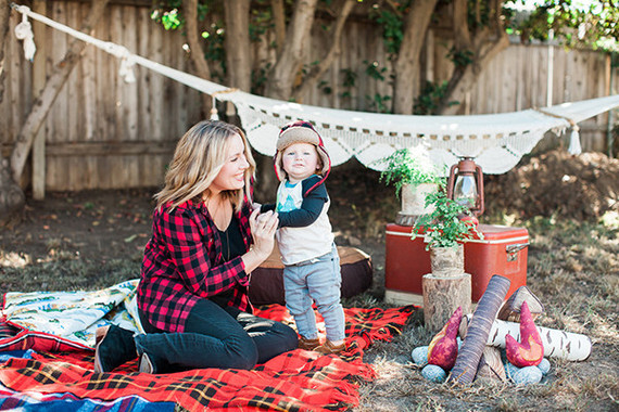 Camping First Birthday Ideas Wedding Amp Party Ideas 100