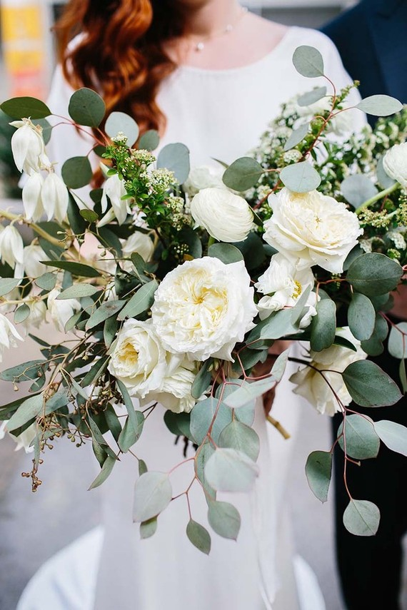 White And Green Bridal Bouquet Wedding Party Ideas 100 Layer