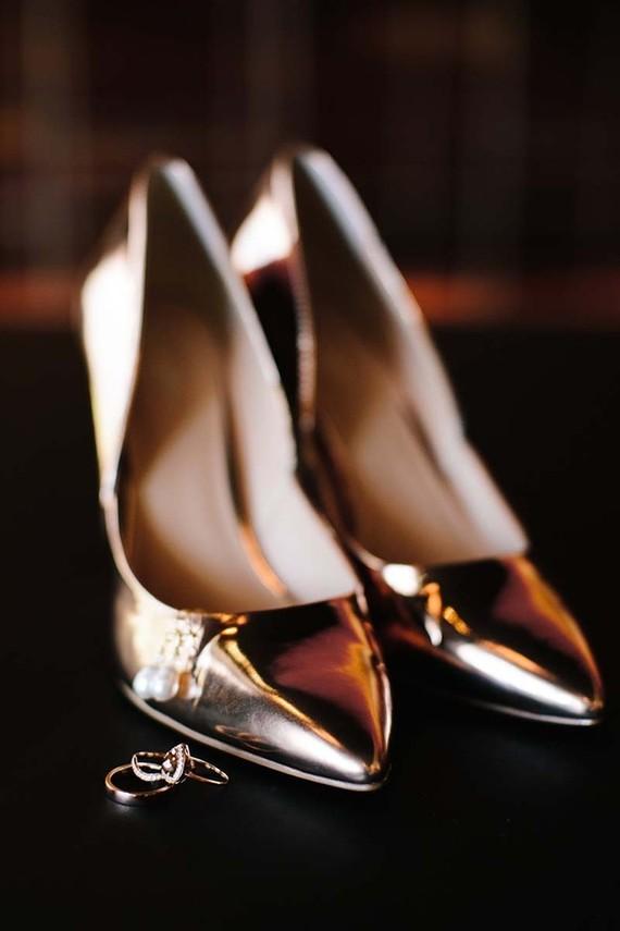 d4482bab393 Copper wedding shoes