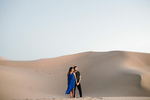 Desert Engagement Shoot At Algodones Sand Dunes Wedding