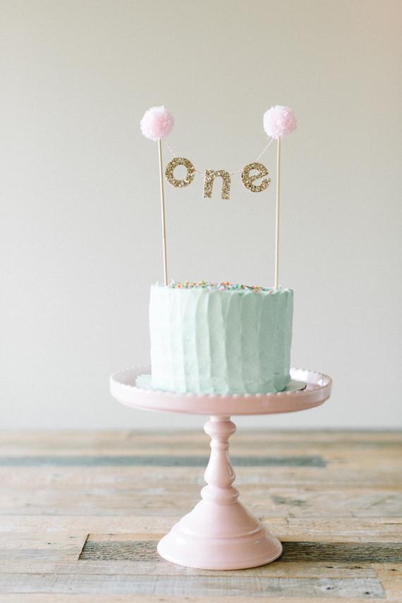 Birthday Cake Green Acres