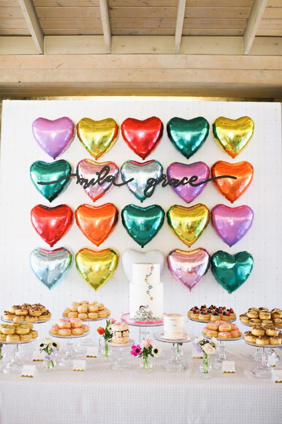 Heart Themed 1st Birthday Wedding Amp Party Ideas 100