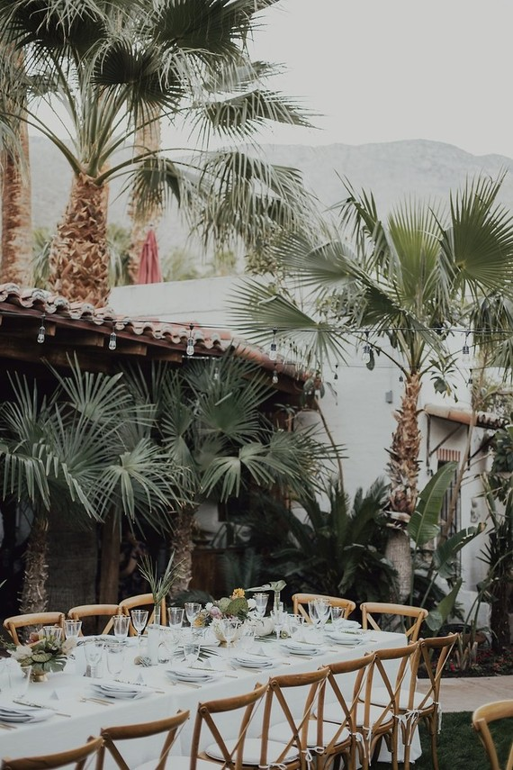 Tropical Palm Springs Wedding Wedding Amp Party Ideas
