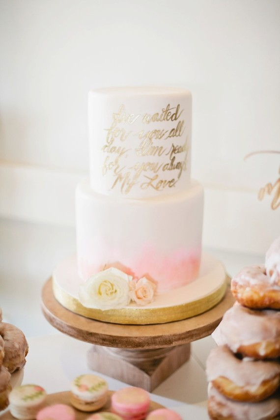 Pink And Gold Baby Shower Cake Wedding Amp Party Ideas