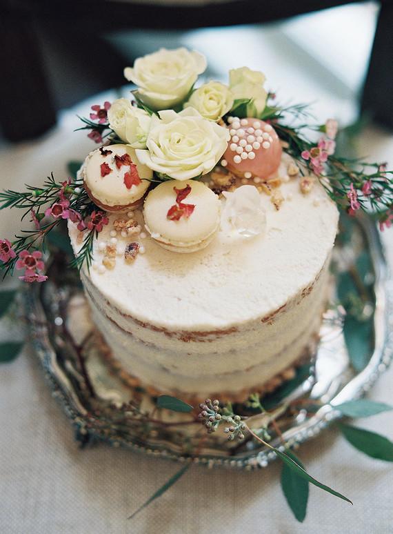 Semi Naked Cake Wedding Amp Party Ideas 100 Layer Cake