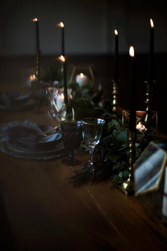Dark And Moody Wedding Inspiration Wedding Amp Party Ideas