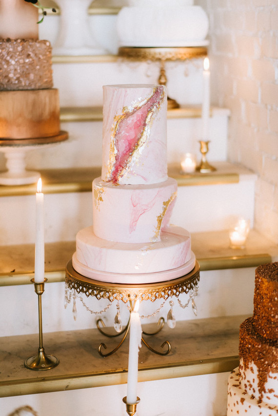 Pink Geode Wedding Cake Wedding Amp Party Ideas 100