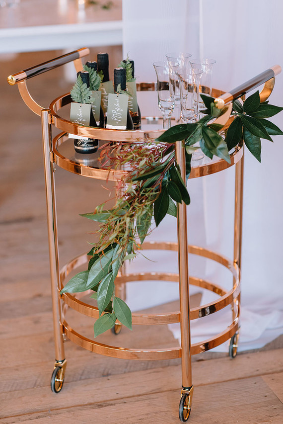 gold bar cart gold bar cart wedding amp ideas 100 layer cake 31166