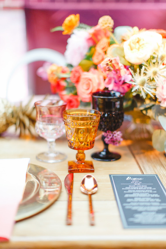 Colorful Tablescape Wedding Amp Party Ideas 100 Layer Cake