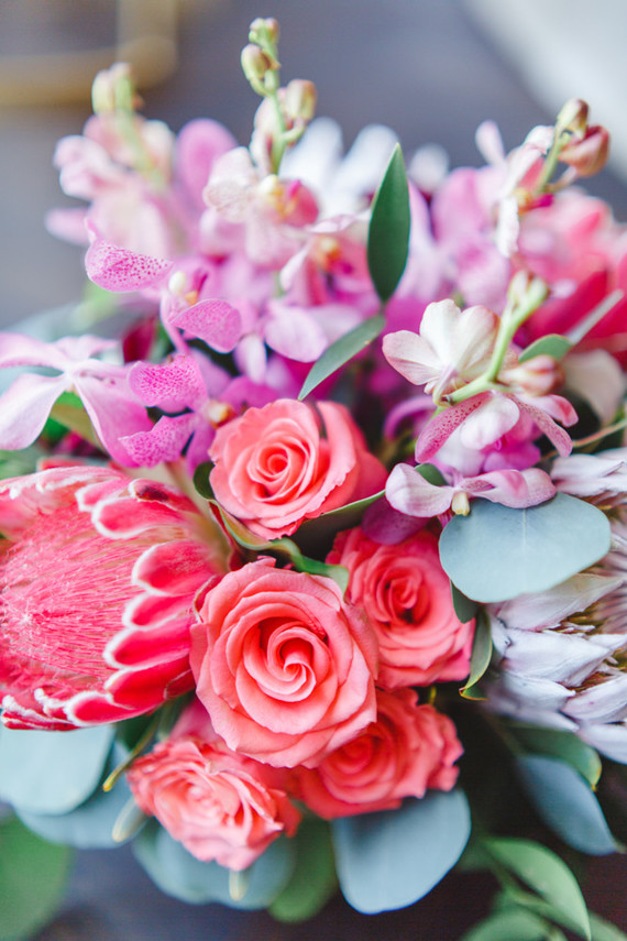 Bright Pink Flowers Wedding Amp Party Ideas 100 Layer Cake