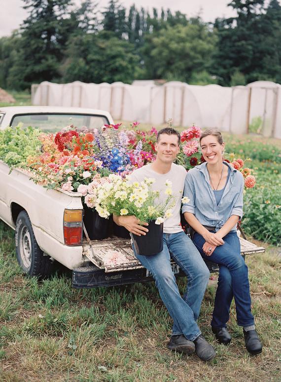 Floret Flower Farm Wedding Amp Party Ideas 100 Layer Cake