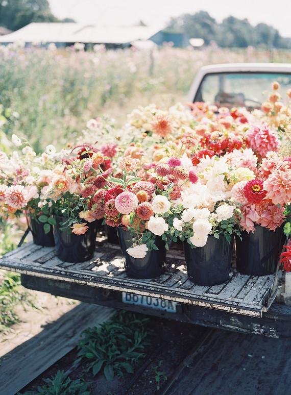 Floret Flower Farm Truck Wedding Amp Party Ideas 100 Layer Cake