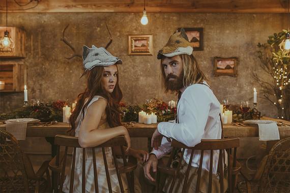 Fantastic Mr Fox Themed Wedding Inspiration Wedding Party Ideas 100 Layer Cake