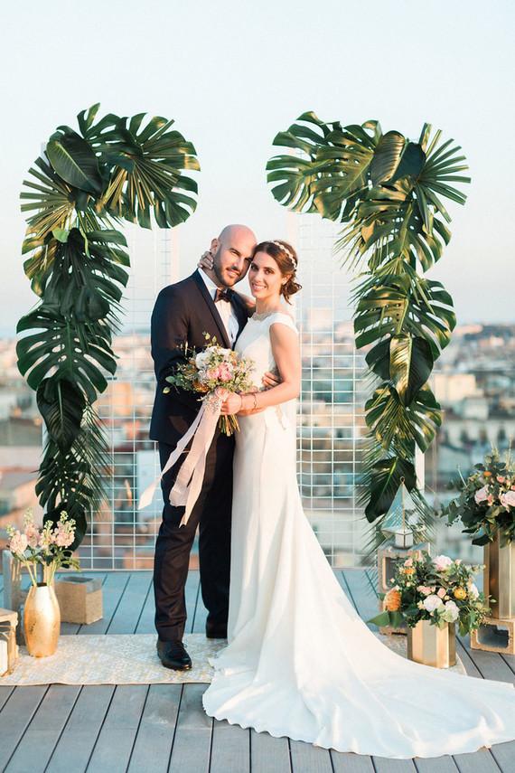 Tropical Wedding Ceremony Wedding Amp Party Ideas 100 Layer Cake
