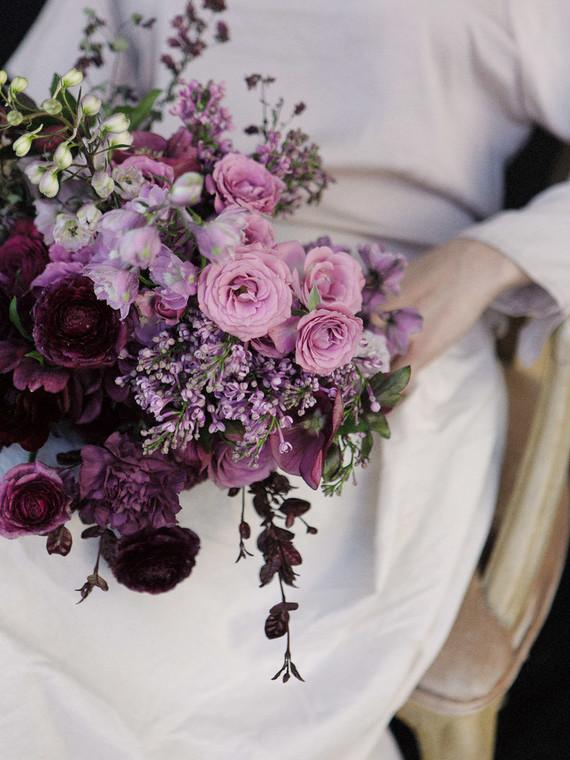 Purple Bridal Bouquet Wedding Amp Party Ideas 100 Layer Cake