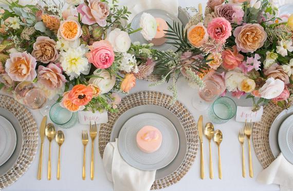 2c8965266f18 Blush floral bridal shower inspiration   Wedding & Party Ideas   100 ...
