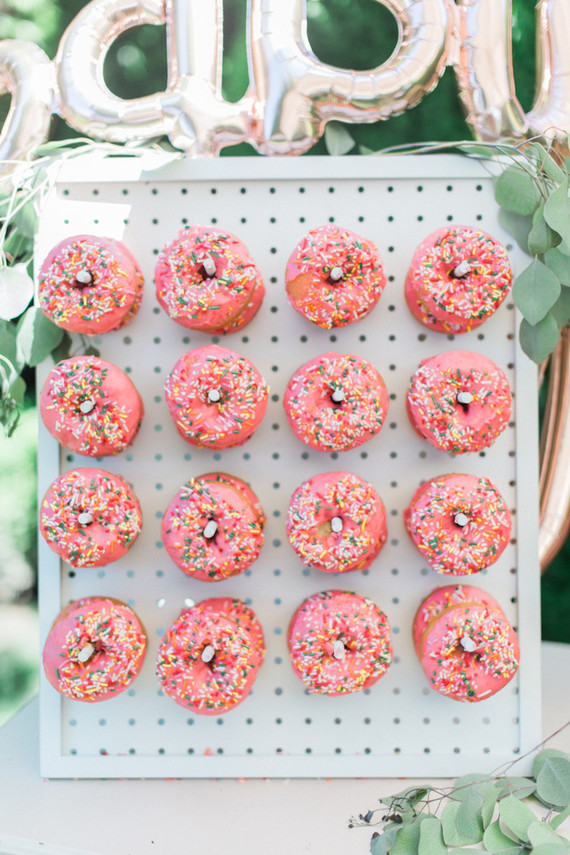 Pink Donut Wall Wedding Amp Party Ideas 100 Layer Cake
