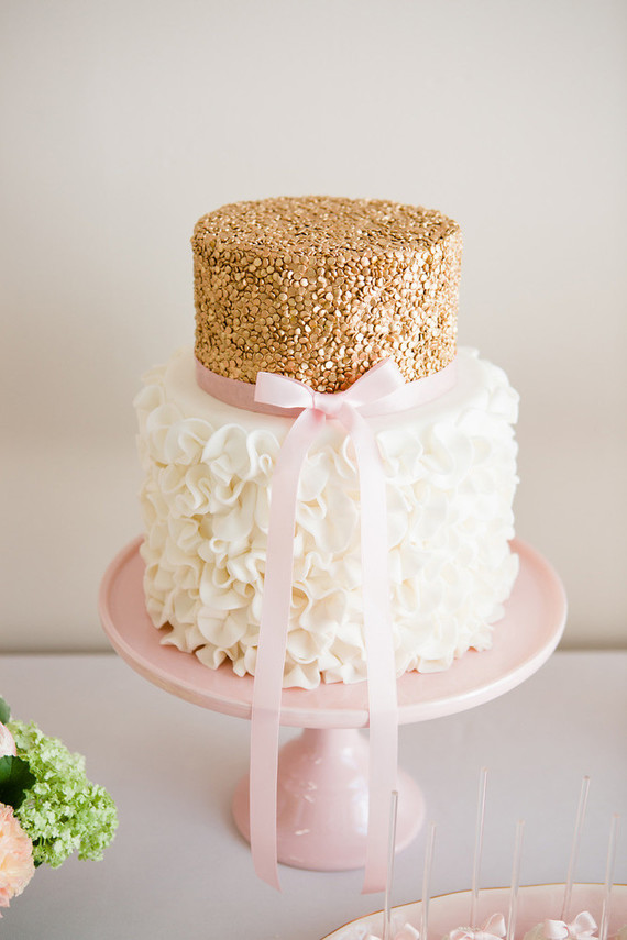 pink white and gold wedding cake pink and gold cake wedding amp ideas 100 layer cake 18599