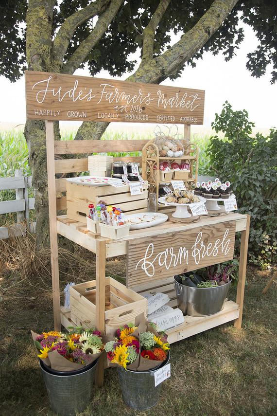 Farmer S Market 1st Birthday Party Wedding Amp Party Ideas