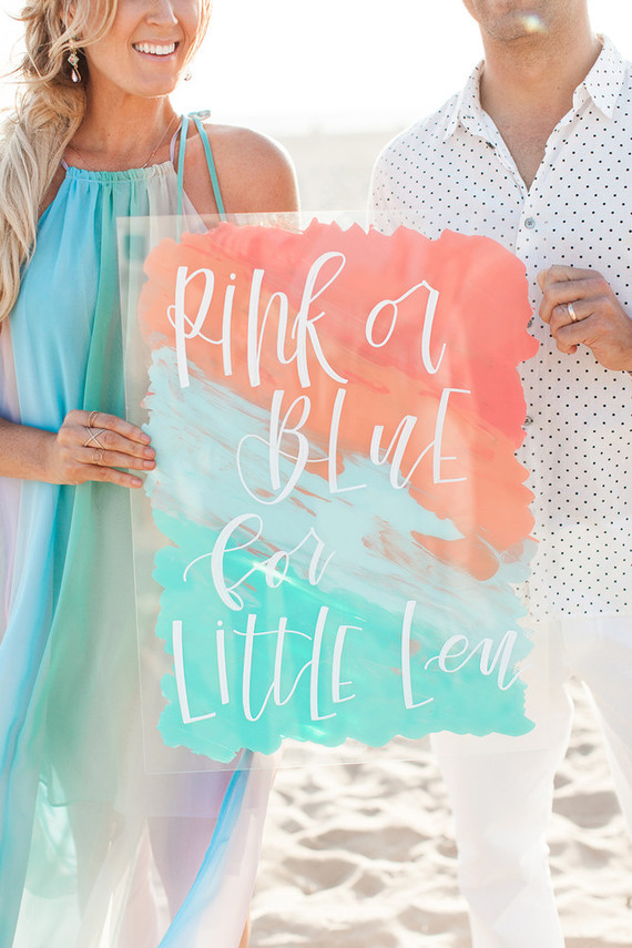 Beachy Boho Gender Reveal Party Wedding Amp Party Ideas