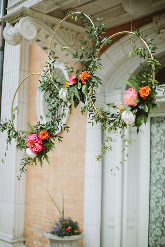 Floral Hoops For Wedding Decor Wedding Amp Party Ideas
