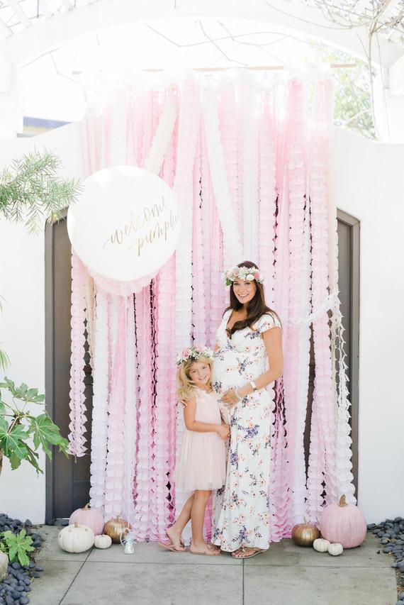 Pink Pumpkin Baby Shower Wedding Amp Party Ideas 100