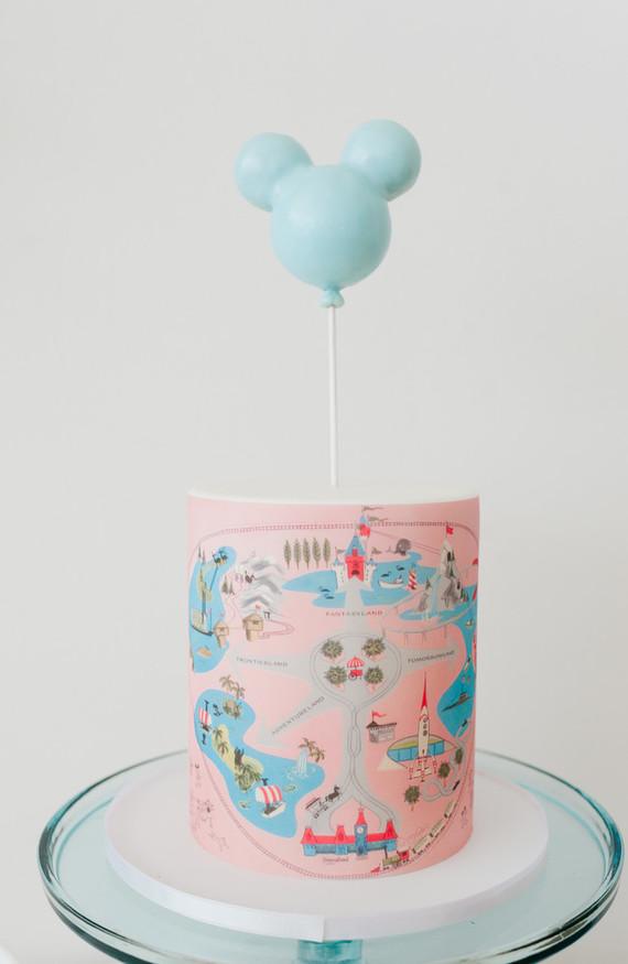 Modern Disneyland Themed Birthday Party Wedding Amp Party Ideas 100 Layer Cake