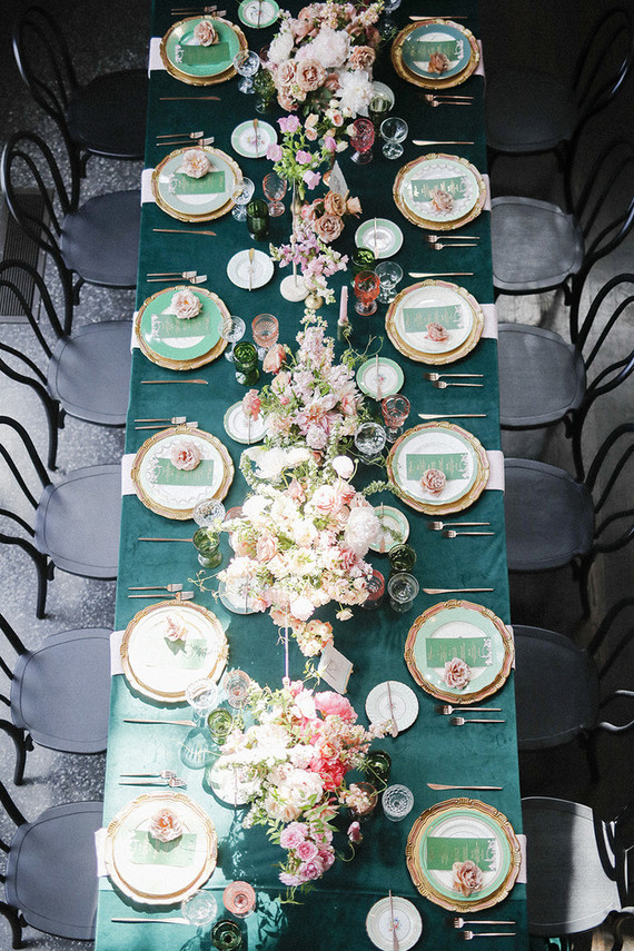 Emerald Green Wedding Tables Wedding Party Ideas 100 Layer Cake