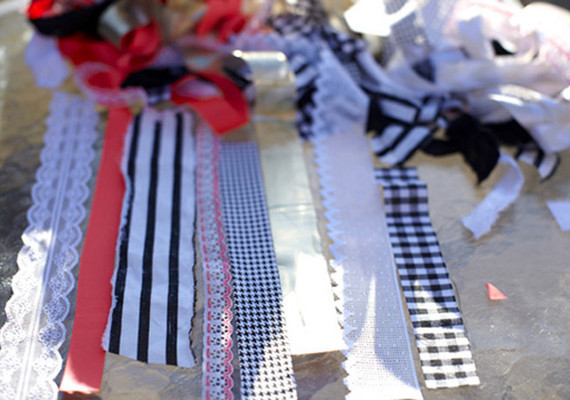 Ribbon Amp Fabric Chandelier Diy Projects 100 Layer Cake
