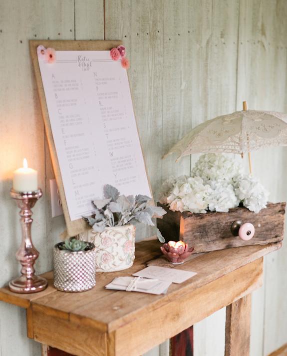 View Wedding Decor: Blush Wedding Decor Inspiration